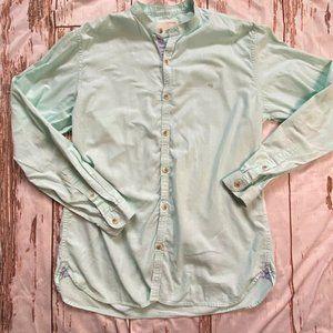 Peter England collarless button down shirt-medium